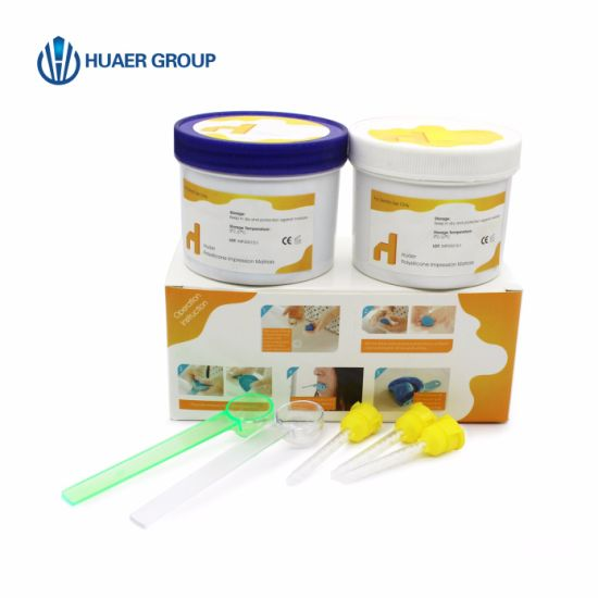 Soft Putty Dental Silicone Rubber Impression Material