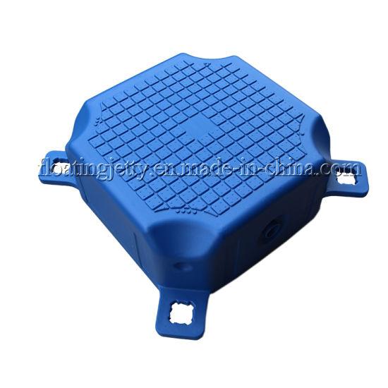 Marina Dock Plastic Pontoon Cube Floating Platform Supplier