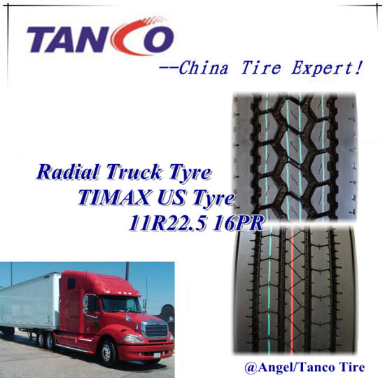 Truck Tyre 11r22.5 11r24.5 295/75r22.5 285/75r22.5 Truck Used Radial Tyre pictures & photos
