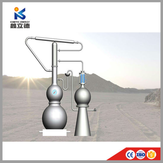 China Best Price Essential Oil Hydrosol Machine Rose