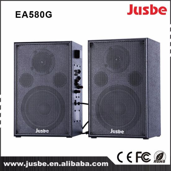 Jusbe Ea580g 24G Wireless Active Wall Mount Bookshelf Speaker
