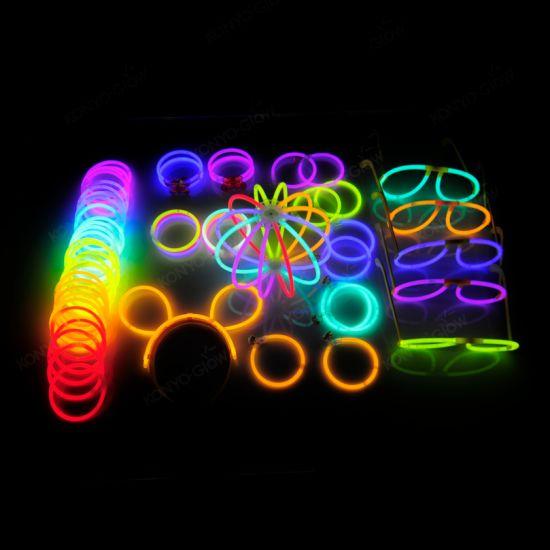 China 238pcs Glow Stick Party Pack Multi Color Glow Party Set
