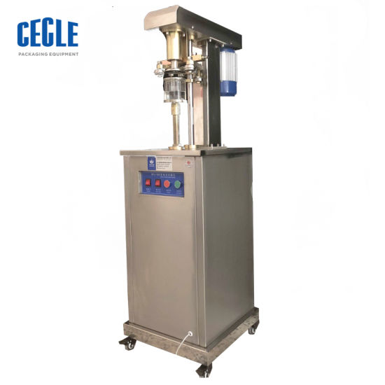 Tabletop Semi Automatic Beer Tin Can Seaming Machine/Nut Can Seamer