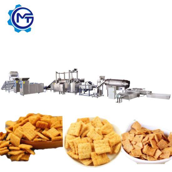 China Automatic Stainless Steel Bugles Sala Rice Crust Making Machine