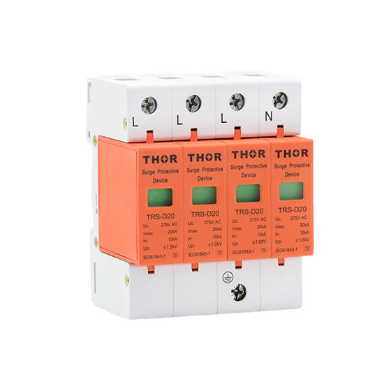 220V Surge Arrester Power Surge Protector Device SPD 20 pictures & photos