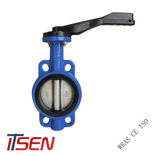 High Quality DIN Pn16 Wafer Type Butterfly Valve with Good Prices for Gear / Lever / Handle Opreated