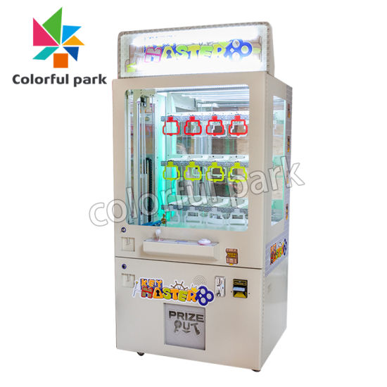 Electronic Game Coin Operated Wholesale Mini Toy Vending/Toy Crane /Coin Pusher /Arcade Vending Game/Arcade Claw/Crane/Claw/Key Master Game/Key Master Machine