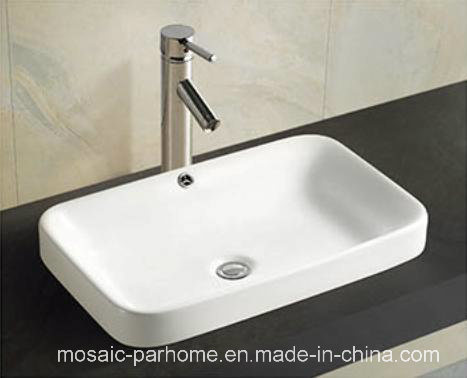 Above Counter Bathroom Cabinet Washbasin Ceramic Wash Basin