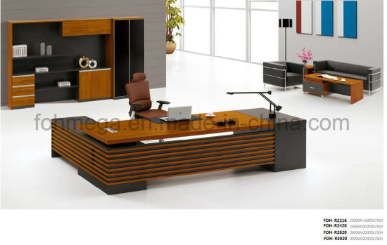 China Luxury CEO Office Furniture Executive Desk with ...