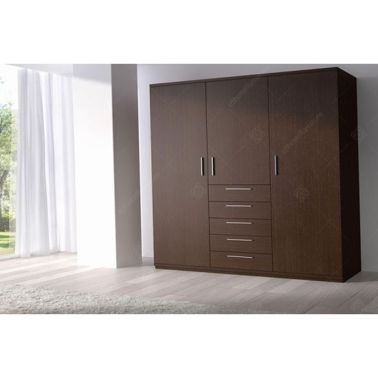 Modern Hotel Wardrobe Design with Hotel Wooden Furniture