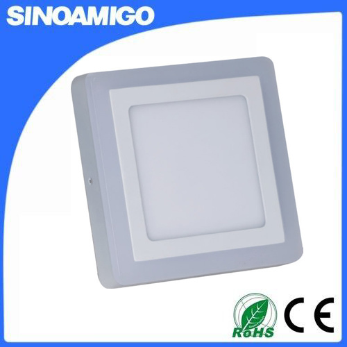 High Lumen 18+6W LED Panel Dual Color Panel Light pictures & photos