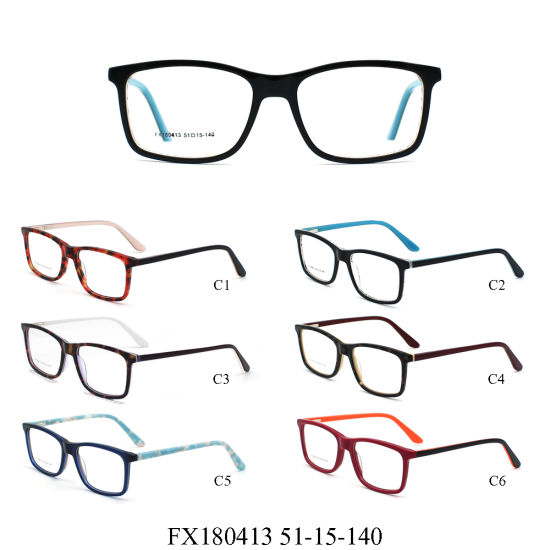 6d1665b3054 China Ready Goods Best Price Latest Model Adult Acetate Glasses ...