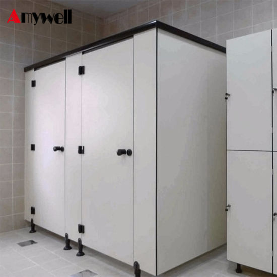 Amywell Good Price Fire Retardant Phenolic Laminated Compact HPL Toilet Cubicles Door & China Amywell Good Price Fire Retardant Phenolic Laminated Compact ...