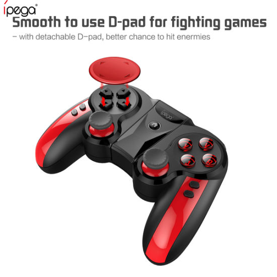 iPega Pg-9089 Bluetooth Wireless Game Controller Gamepad Joystick for Android Ios PC Phone with Adjusted Holder for Pubg Games pictures & photos