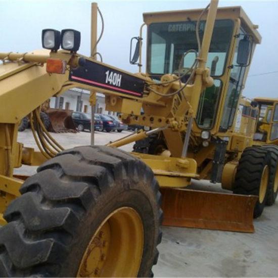 Used Caterpillar 140 Motor Grader Cat 140h Grader with Ripper