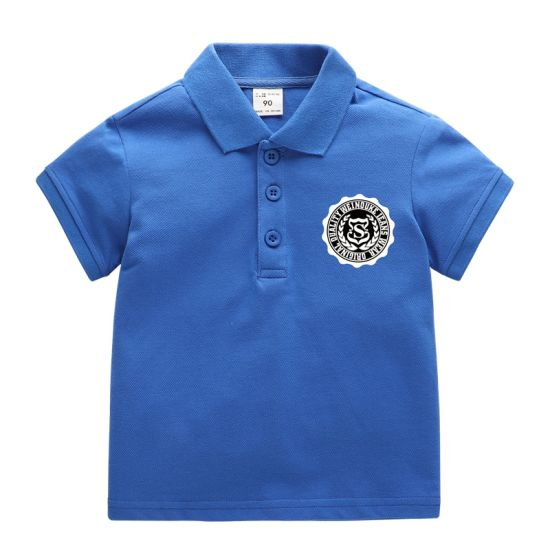 Wholesale Kids Clothes Baby Children Fashion Polo T Shirt Apparel