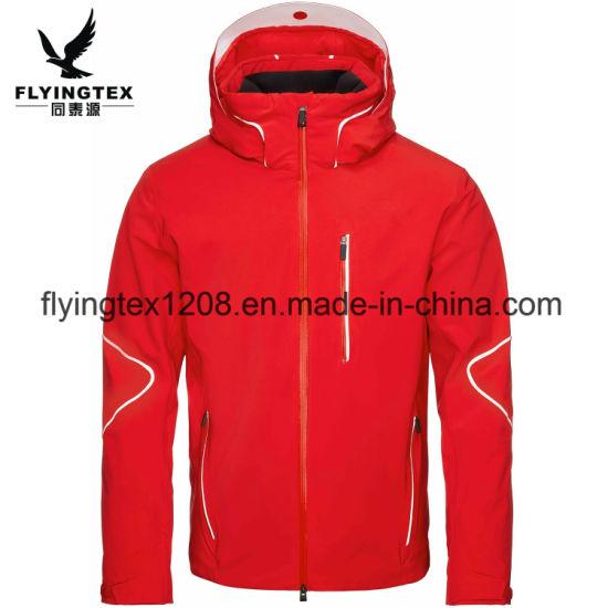 OEM Wholesale Men's Polyester Fashion Waterproof Windbreaker Ski Coat