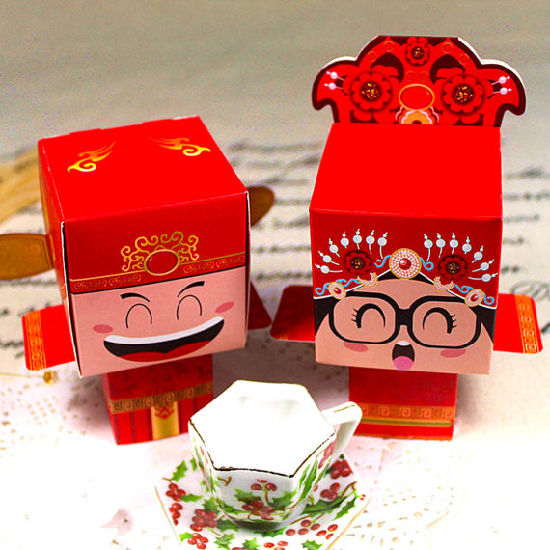 Tea Ceremony Eastern Wedding Favors Chinese Themed Wedding Favor Boxes