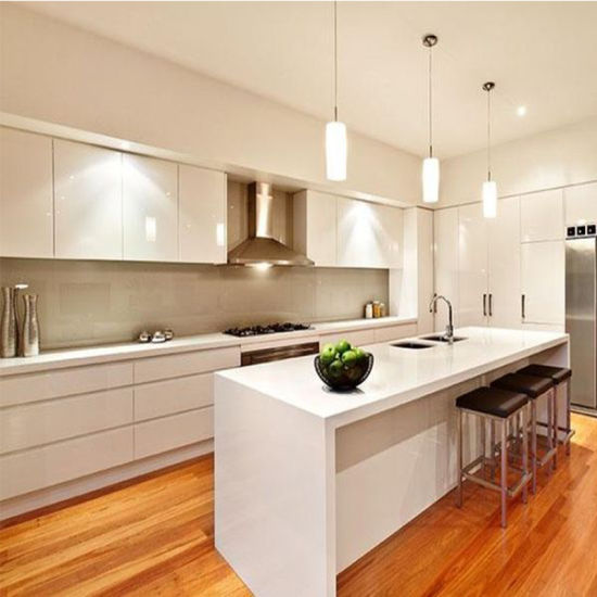 China High Quality Australia Modern White Kitchen Pantry Cupboards