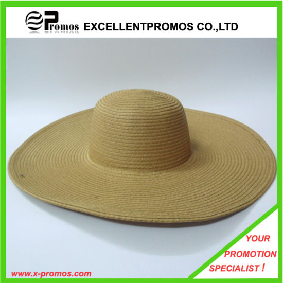 Latest Fashion Paper Straw Crochet Big Brim Hat (EP-H8296A) pictures & photos