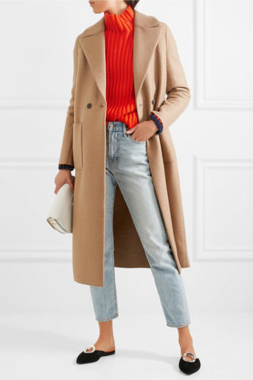 2017 OEM Clothing Factory for Customized Wool Women Coat