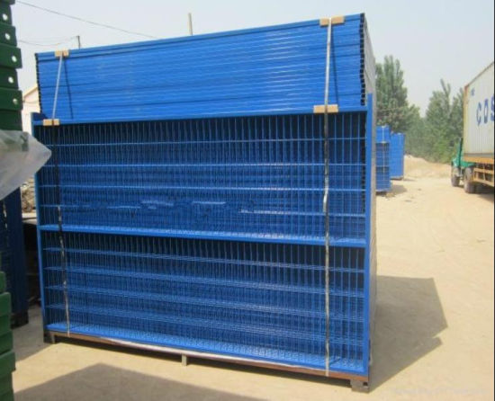 6ftx9.5FT Canada Temporary Fence Panel/Temporary Construction Fence pictures & photos