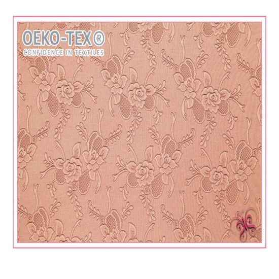 Flower Design Good Quality Lace Fabric for Garments