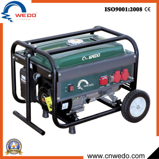 Wd 2kw/2.5kw/2.8kw 4-Stroke Portable Gasoline/Petrol Generators with Ce (168F) pictures & photos