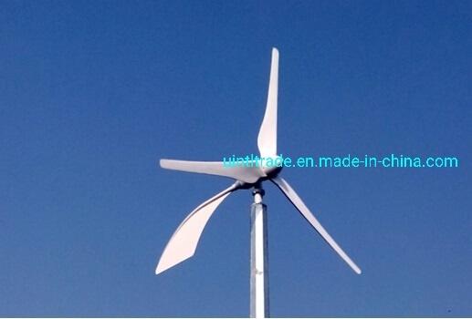 600W Horizontal Wind Turbine for Home Use