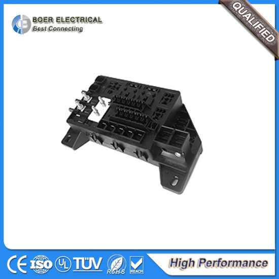 China Auto Electrical Wire Harness embly Car Fuse Box - China ... on breaker box wire, gauge wire, fuse cap wire, cable box wire, starter wire, fuse remote wire,