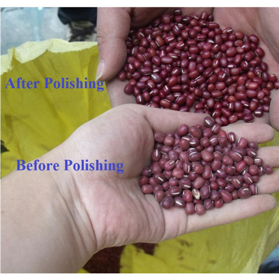 Bean Polisher /Soybean Mungbean Kidney Bean Polishing Machine pictures & photos