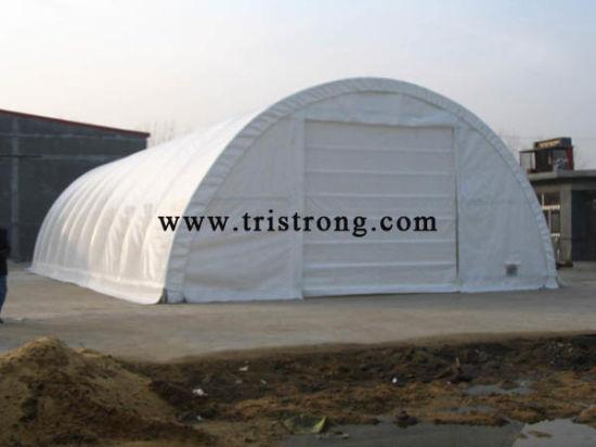 China Large Portable Carport Large Warehouse Prefabricated