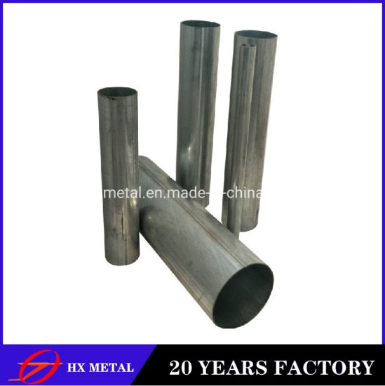 Factory Building Material Round Hot Rolled Galvanized Steel Tube Pipe for Construction