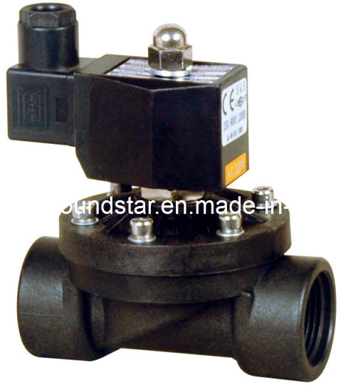 Plastic Solenoid Valve for Water Air pictures & photos