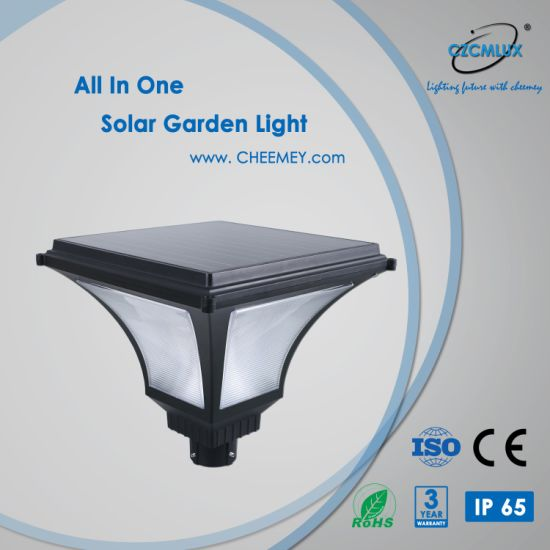 Outdoor LED Solar Garden Road Light with Lithium Battery