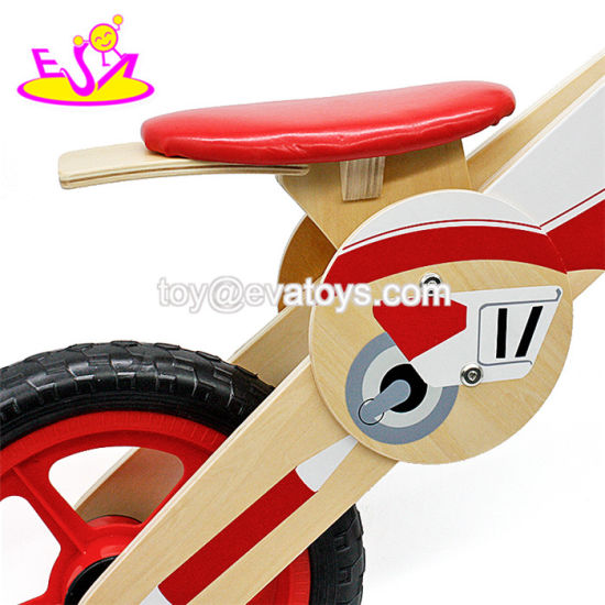 Newest Design Boys Sport Motorcycle Style Wooden Balance Toddler Bike for 3-6 Years Old W16c182 pictures & photos