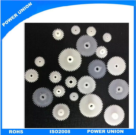 China POM Nylon PP Plastic Injection Gears for Clock System