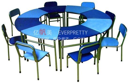 Phenomenal China 8 Kids Fixed Metal Leg With Wooden Top Kindergarten Inzonedesignstudio Interior Chair Design Inzonedesignstudiocom