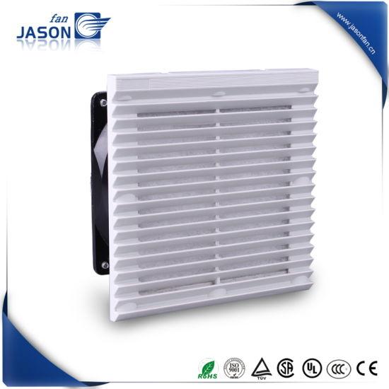 204mmx204mm 230V Ral7035 Fan Filter for Electrical Cabinet Fjk6623pb230