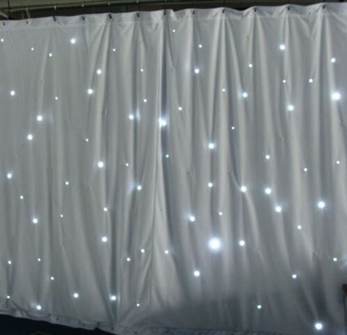 LED Backdrop Twinkling Star White Curtain for Wedding Show pictures & photos