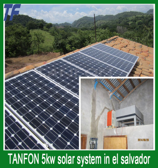 Solar Home Energy Power System 3kw/ Solar Panel Photovoltaic Kit for Home 5kw / Solar Power Generator Hybrid System with Free Shipping 10kw 15kw pictures & photos