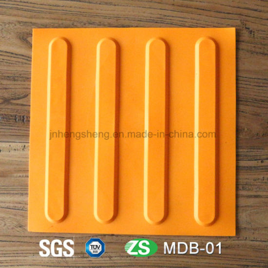 New Plastic Material Floor Tiles for Tactile System Tiles