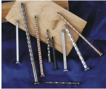 Zinc Plated Twisted Concrete Nails pictures & photos