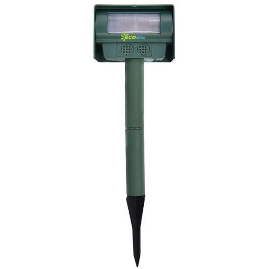 Solar Power Ultrasonic Pest Animal Repeller Pest Control Sensor Detection Garden