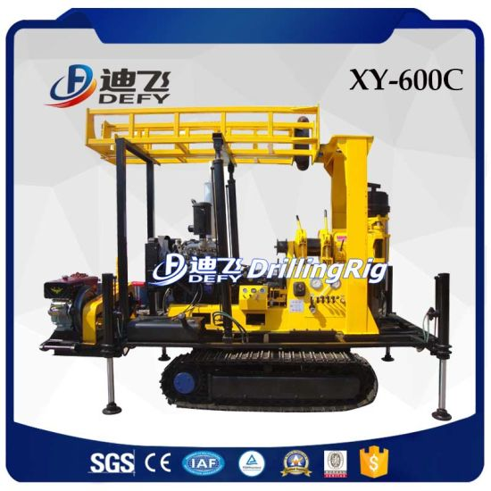 Portable Agriculture Borehole Water Well Drilling Rig Machine for Sale