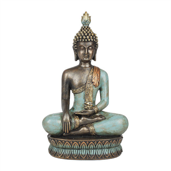 Hotsell Fengshui Tabletop Mini Resin Meditation Buddha Statue for Home