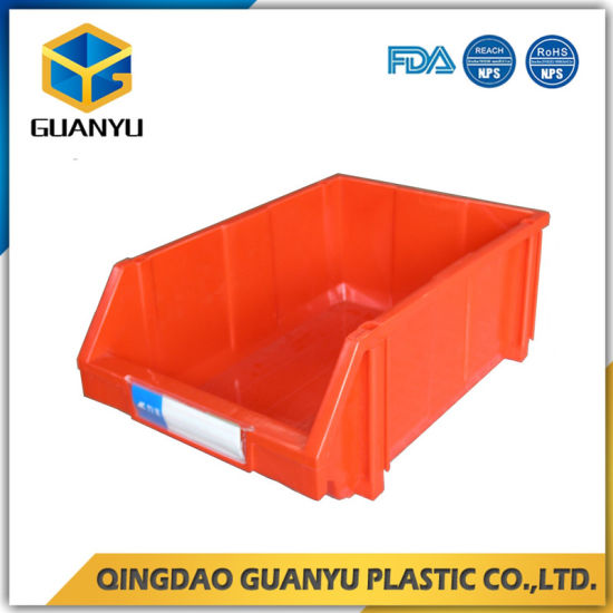 Exceptional Stacking Plastic Material Storage Bins Work With Wire Shelving And Rack  (PK003)