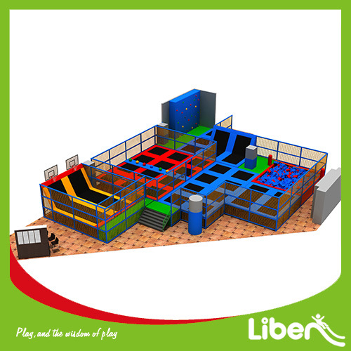 Basketball Indoor Trampoline Park Supplier pictures & photos