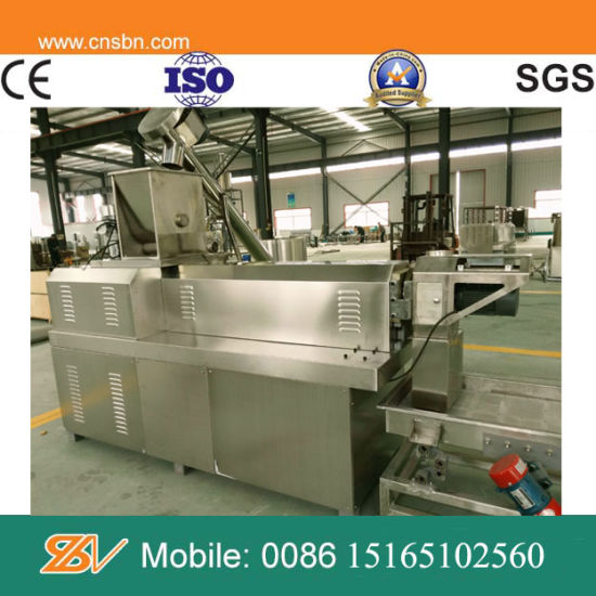 Automatic Crispy Corn Snacks Extruder Machine pictures & photos