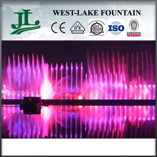 Wholesale Colorful AC380V Stainless Steel Music Fountain